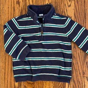 Janie & Jack 1/4 Zip Sweatshirt